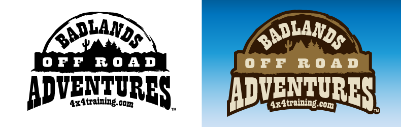 offroad business logo design